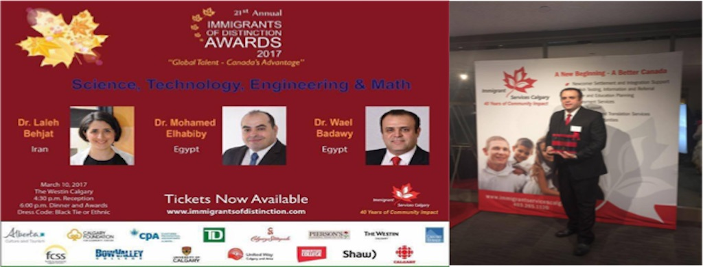 Award winning for his innovations