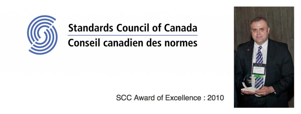 The prestiges SCC award